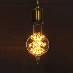 LED 눈꽃 에디슨 에일리언