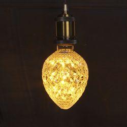 LED 눈꽃 에디슨 스트로베리