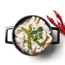 라비퀸 떡볶이 크림랍스터맛 세트(쫄면사리포함)