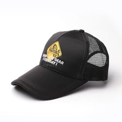 와일드 메쉬캡 - 블랙