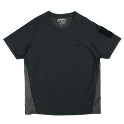 패치워크 티셔츠 - 블랙