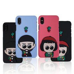 지노 아저씨&소녀 하드 케이스.아이폰6(s)플러스