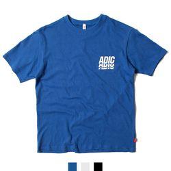 남녀공용 ADIC 프린팅 커플 반팔티셔츠