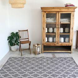 발렌시아 사계절 면 거실 침실 러그 물세탁70x200cm