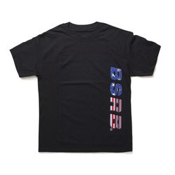 BSRABBIT BSRB USA T-SHIRT BLACK