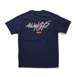 BSRABBIT ALWAYSFUN T-SHIRT NAVY