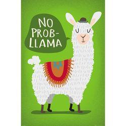 GN0877 라마 No Probllama (61X 91)(포스터만)