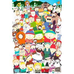 FP2435 사우스파크 캐스트 (61X 91)(포스터만)