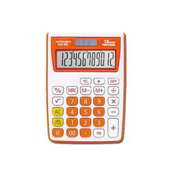 11000 ECD-801 컬러계산기 (오렌지)