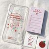 [메모지&스티커 증정] La pomme Case Set (Red)