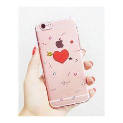 아이폰6플러스/6S플러스 화살하트(젤리 케이스)
