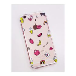 아이폰6플러스/6S플러스 소녀의하루(젤리 케이스)