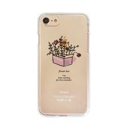 아이폰6플러스/6S플러스 상자에 핀 꽃(젤리 케이스)