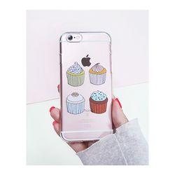 아이폰6플러스/6S플러스 컵케익(젤리 케이스)