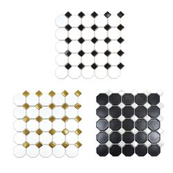 팔각타일 303X303 1헤베-11장 화이트 골드 블랙 (3color)