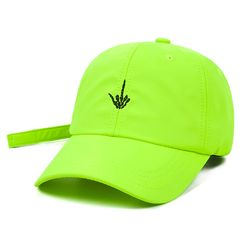 Fxxk BASEBALL CAP NEON GREEN