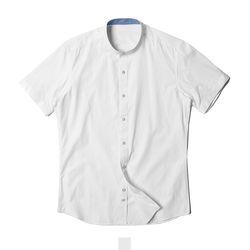 무지 차이나카라 남자반팔셔츠