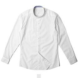 무지 차이나카라 남자셔츠