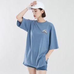 [로코식스] 웰컴하와이 나염 티셔츠