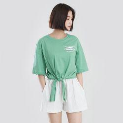 [로코식스] 햄리 나염 티셔츠