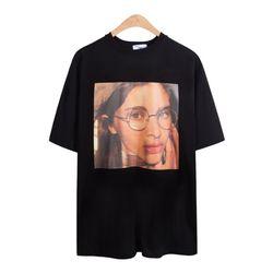 루즈핏 제곱 키라 반팔 티셔츠 TSB757