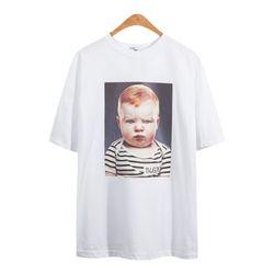 루즈핏 뾰루퉁 아기 반팔 티셔츠 TSB755