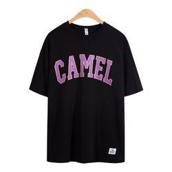 카멜 반팔 티셔츠 TSB749