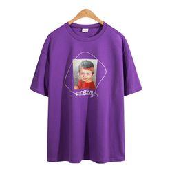 루즈핏 보이 나염 반팔 티셔츠 TSB743