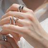 Shimmer Summer 3 Line Ring