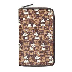 [디즈니 정품]ND45.체크 미키마우스 여성 장지갑