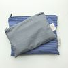 line and line pouch MEDIUM GRAY