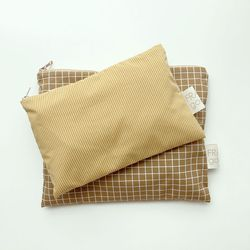 line and line pouch MEDIUM YELLOW