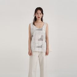 times sleeveless (2colors)