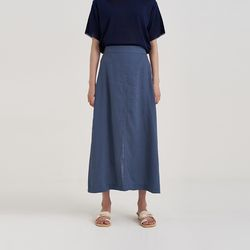 jane linen maxi skirt (2colors)