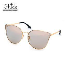 글륵 골드 브라운미러 원형 선글라스 GLS 36-C01