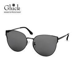 글륵 그레이 스모그미러 원형 선글라스 GLS 36-C02