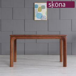 오스텐 4인 원목 식탁 테이블