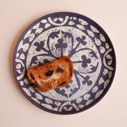 네덜란드 뱀부 유러피안타일 플레이트18cm 대나무접시