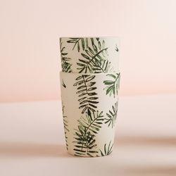 네덜란드 뱀부 팜트리 텀블러 대나무 컵