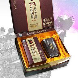 천맥 고려6년근 홍삼농축액 250gx1병 고급도자기컵