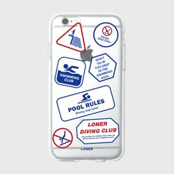 Diving club case(jelly)