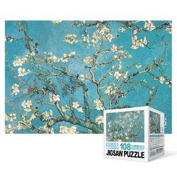 108피스 직소퍼즐  꽃이 핀 아몬드 나무4 (미니)