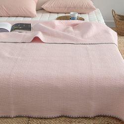 레터코튼이불-핑크(퀸)