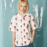 Alllover Printing Shirt (WHITE)