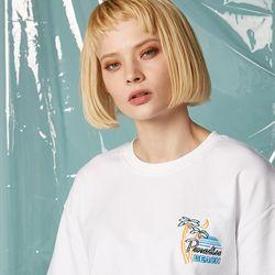Paradise Half T-shirt (WHITE)