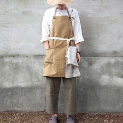 work apron ( beige )
