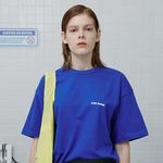 No diving tshirt-blue