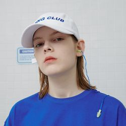 Diving club cap-white