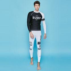 아르고 남자 래쉬가드세트 SURF RIDER 래쉬가드