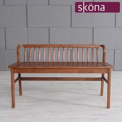 오스텐 3인 원목 벤치 의자